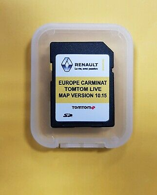 latest tomtom europe map version LATEST RENAULT TomTom Carminat LIVE V10.15 SD CARD EUROPE and UK