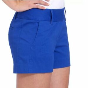 NWT Daisy Fuentes Simple Shorts 6 Blue Classic