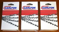 28 Full Chisel Skip Tooth Chains 3-pack Replaces Stihl 33rsf-91 A1lmsk-091g(3)