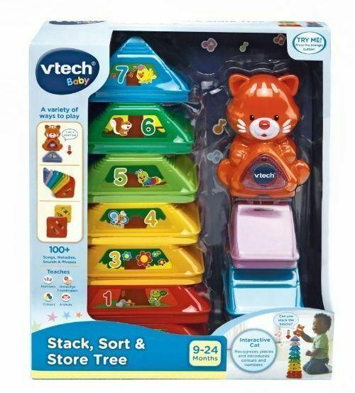 Vtech Stack Sort Tree Creative Toy Toys Kids Building Blocks 9 To 24m For Sale Online Ebay