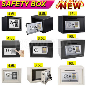 Electronic Password Security Safe Money Cash Deposit Box Office Home Safety Mini