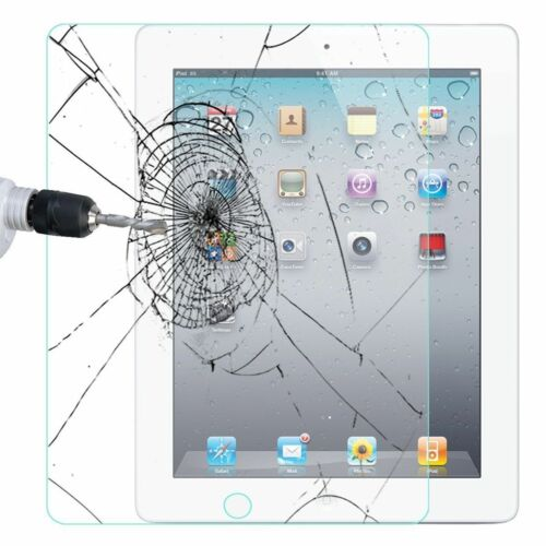 Premium iPad Tempered Glass Screen Protector Shield For Apple iPad Ultra Clear