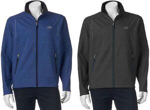 c6d30239d1d61 New Mens Big & Tall New Balance Softshell Performance Jacket Size LT ...