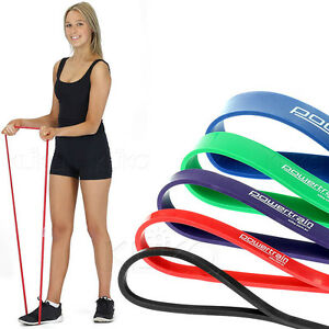 ONE-HEAVY-DUTY-RESISTANCE-BAND-POWER-HOME-GYM-FITNESS-EXERCISE-YOGA-WORKOUT