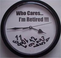 Retirement Novelty Clock - Lqqk