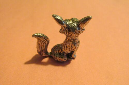 Pewter Fox Figurine