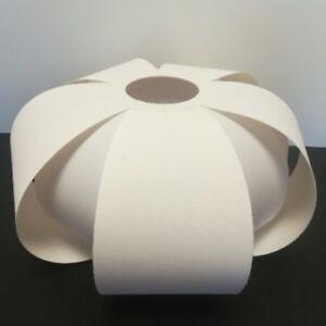 Ausgefallenes-Textil-Lampenschirm-E27-Stoffschirm-weiss-Stehleuchte-Pendelleuchte