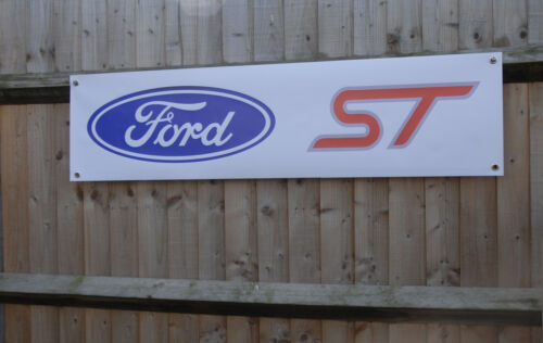 Ford ST pvc workshop banners Fiesta etc Focus