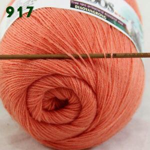 Sale-1-Skein-x50gr-LACE-Soft-Crochet-Acrylic-Wool-Cashmere-hand-knitting-Yarn-17