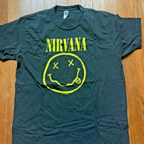 Vintage Nirvana Nevermind 1992 Smiley Face T-Shirt
