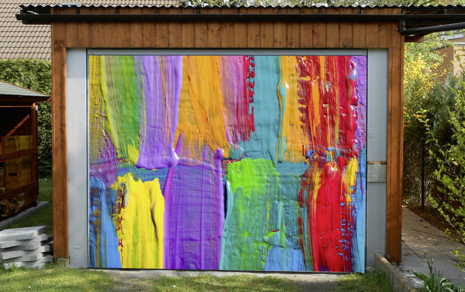3D Farbee Pittura Garage Porta Stampe Parete Decorazione Murale AJ WALLPAPER IT
