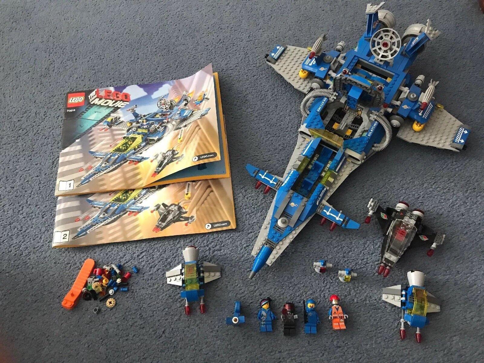 LEGO THE LEGO MOVIE BENNY'S SPACESHIP 70816 Excellent