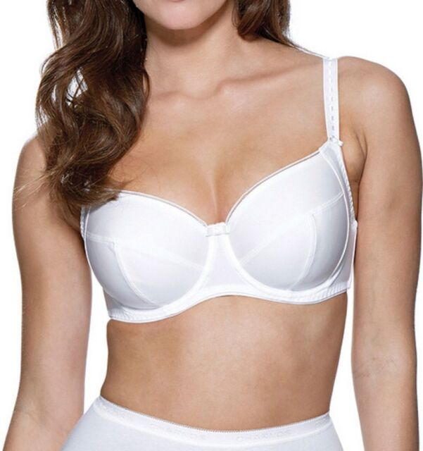 abeccff43c49a Charnos Superfit Everyday Full Cup Bra 20609 Black Brulee or White ...