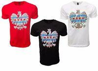 Polska Eagle Chicago Flag Poland Country Pride T-shirt Polish Tee