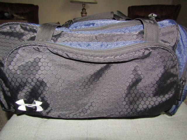 Under Armour UA Duffel Gym Bag 21 X 9 X 10 Black