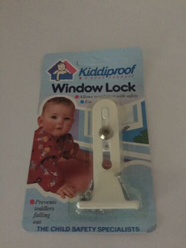 Window Lock Child Safety By Kiddiproof Allows Ventilation With Safety New