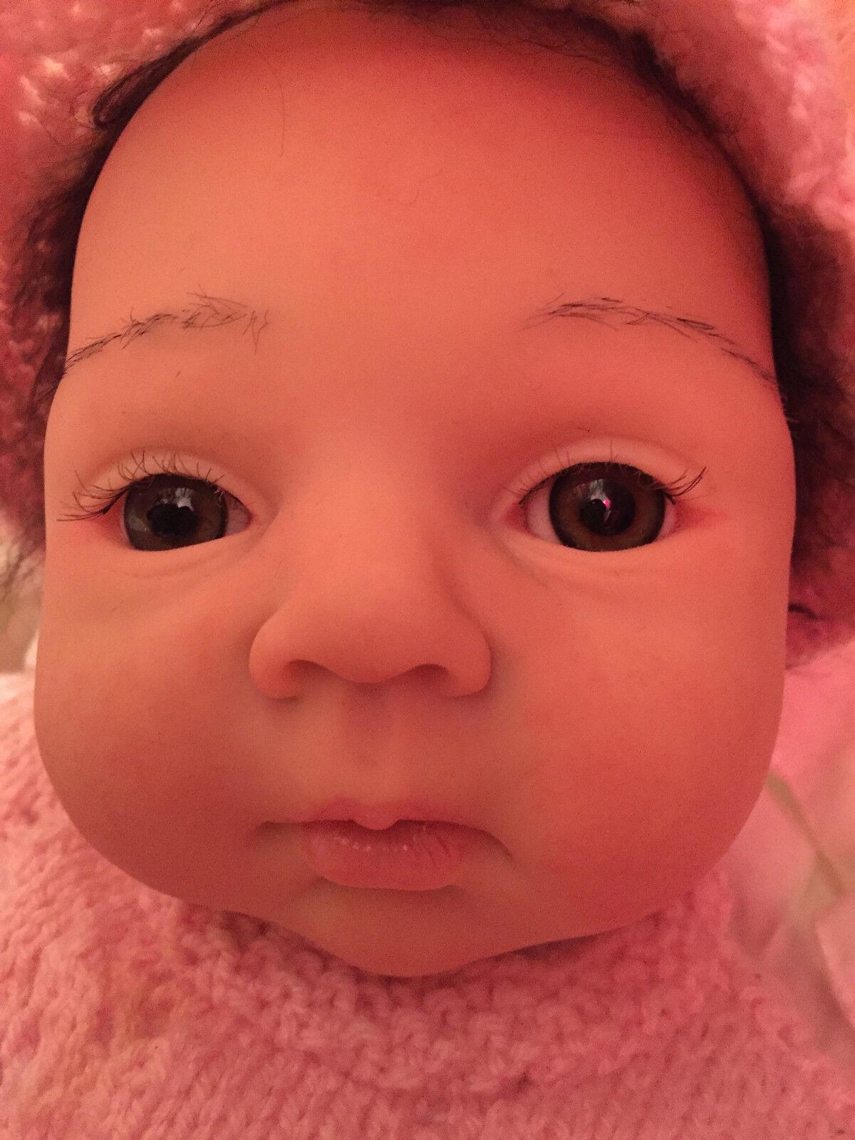 Reborn reallife Baby la dulce mia de adrie stoete coleccionista muñeca artistas muñeca