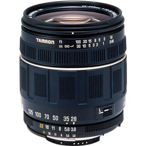 Tamron AF 28-200mm F/3.8-5.6 XR Di Aspherical (IF) Macro Zoom Lens f/ Canon (Ope