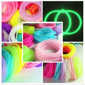 Fashion-5Pcs-silicone-elastic-rubber-band-Bracelet-wristband-Bangles-0cn