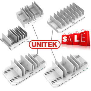 Unitek-Multi-Charging-Station-Multi-Port-USB-Adapter-Desktop-Multi-Charger-Hub