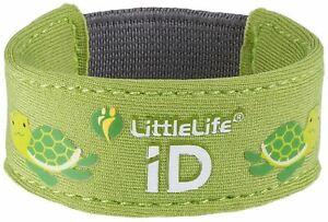 Petite Vie Littlelife Sécurité Id Bracelet-tortue Bébé Accessoire Entièrement Neuf Sous Emballage-afficher Le Titre D'origine
