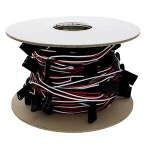 "United Pacific 2 Wire Plug Wire Harness-100/' Long W6/"" Wire Lead 100 Plug"