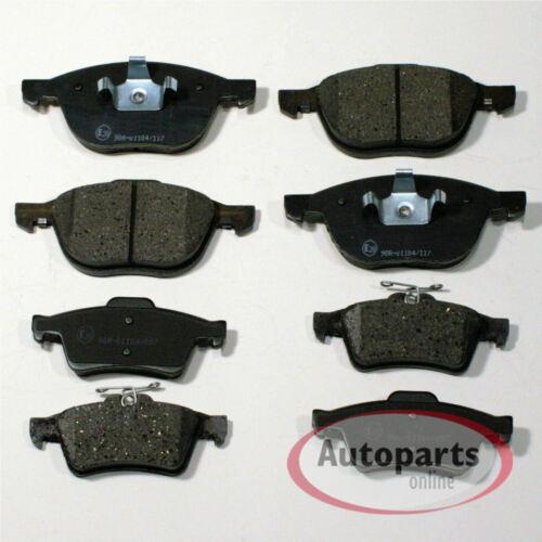 Bremsbeläge Bremsklötze Bremsen für vorne hinten Ford S-Max