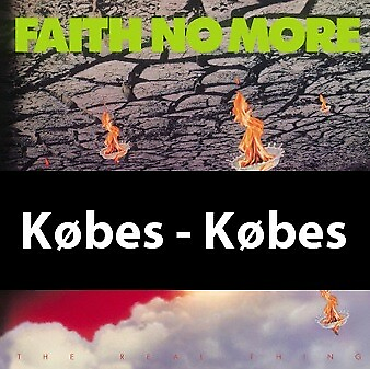 LP, Faith No More, The Real Thing, Købes !  Original vinyl…