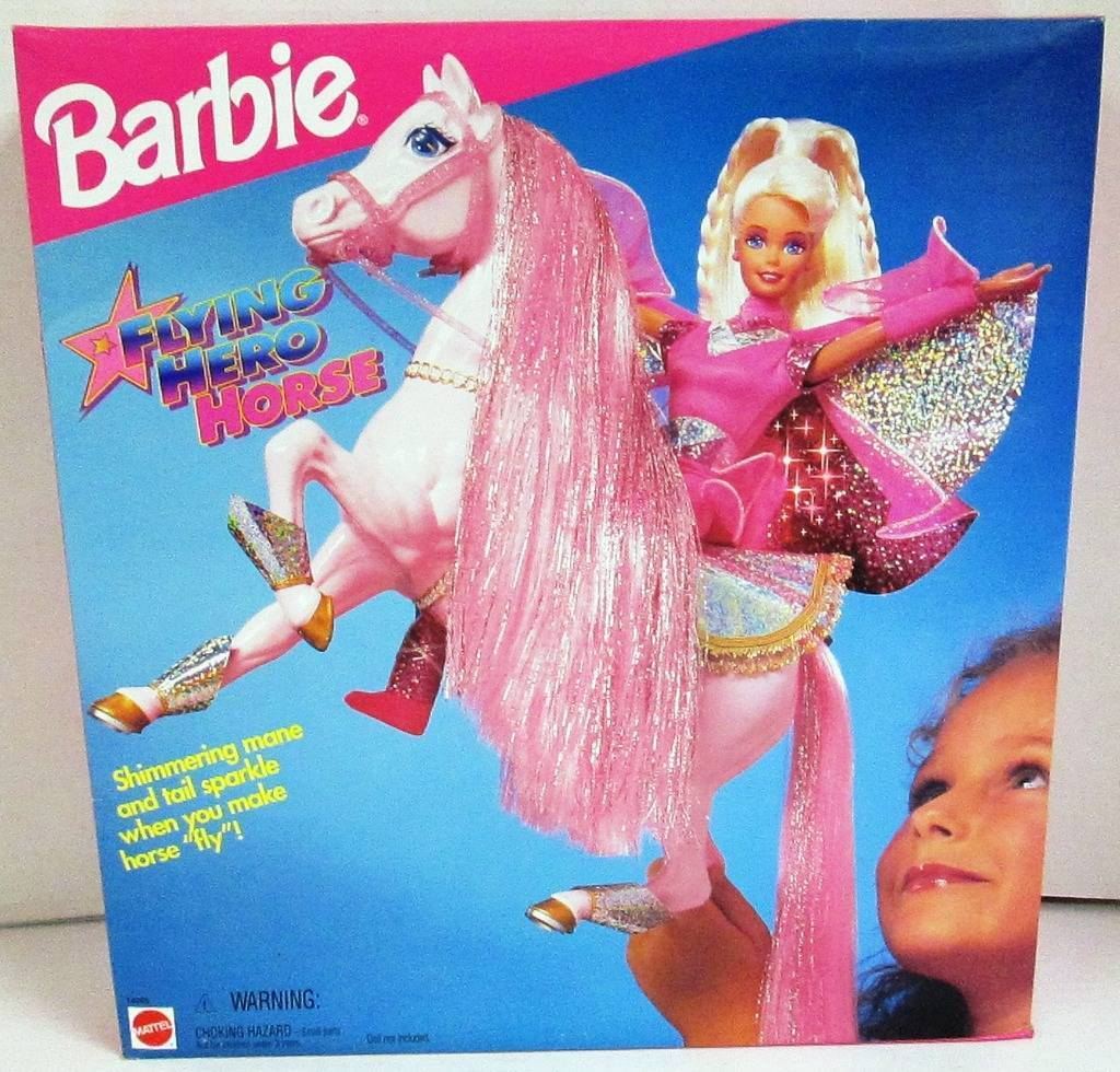 Caballo De Barbie Flying Hero