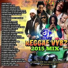 DJ KENNY REGGAE VYBZ MIX CD