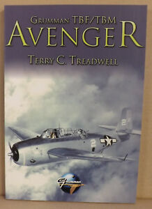 Grumman-TBF-TBM-Avenger-by-Terry-C-Treadwell-NEW-Paperback