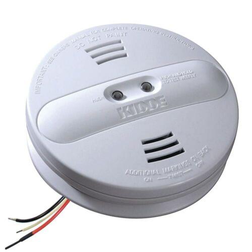 Kidde Hardwire Smoke Alarm Detectors 9V Battery Backup Ionization Dual Sensors