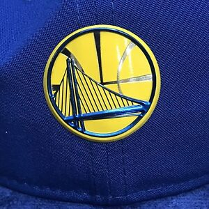 save off 8bd1c ff4bb Image is loading GOLDEN-STATE-WARRIORS-NEW-ERA-ROYAL-2017-NBA-
