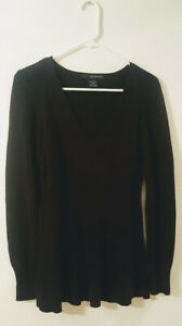 Pre-Owned-Women-s-Black-Calvin-Klein-Jeans-Sweater-Size-M