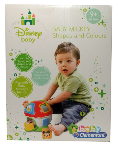 Disney Baby Mickey Shapes And Colours Shape Sorter Age 9 Months Plus