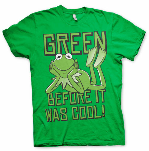 The Muppet Show Kermit Frog Green Cool Der Frosch Die Muppets Herren Men T-Shirt