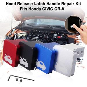 Car Hood Latch Lever Handle Release Repair Kit Clip For