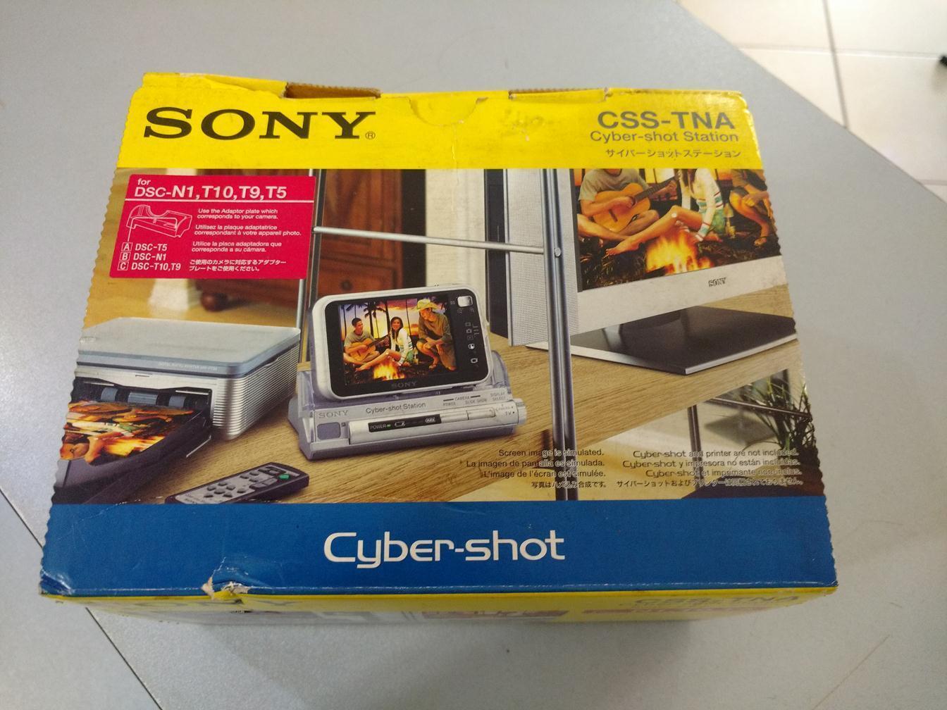Sony CSS-TNA Cybershot Station for DSC-T5, DSC-T9, DSC-N1 Digital Cameras