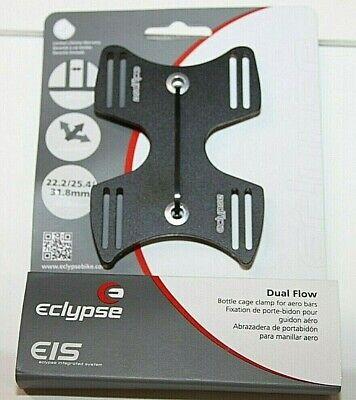 Eclypse WBTC55150 Dual Flow Bar Mount Bicycle Water Bottle Cage 710104-01