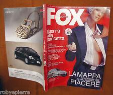 fox uomo novembre 2002 rinoplastica porsche 911 gt2 tutti i trucchi per il sesso