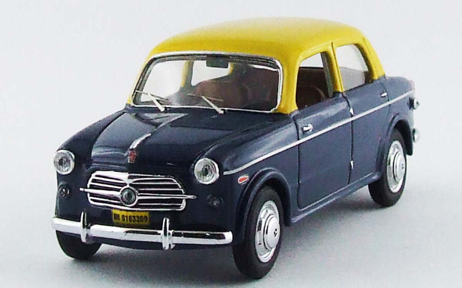 Fiat 1100 TV India   Mumbai Taxi 1 43 Model RIO4496 RIO