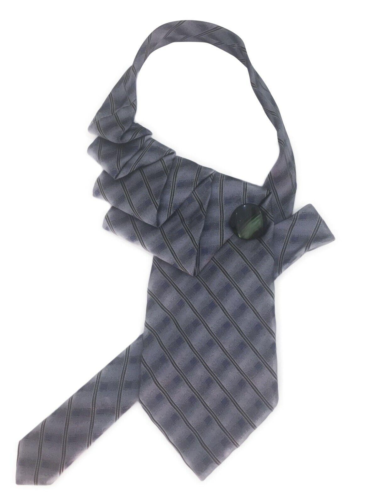 Tie women's. Silk Italy. Collar, necklace, necktie, cravat. Hand-made