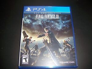 Details about Replacement Case (NO GAME) FINAL FANTASY XV PlayStation 4 PS4  100% Original Box