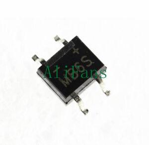 50 Pcs IC MB6S 0.5A 600V Miniature Mini SMD Bridge Rectifier NEW