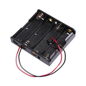 Batteriehalter Batterienhalter Halter Box für 4x Micro AAA Batterien zum Einbau