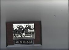 AFFIRMED Beats ALYDAR PLAQUE HORSE RACING TURF