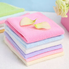 6x Bath Washcloth Washer Baby Cotton Face Wipes Washable Bath Towel Set