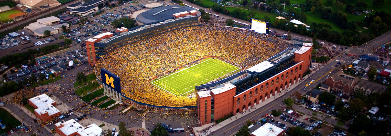 Michigan State Spartans at Michigan Wolverines Football