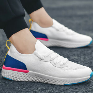 Men-039-s-Womens-Running-Breathable-Shoes-Sports-Casual-Walking-Athletic-Sneakers