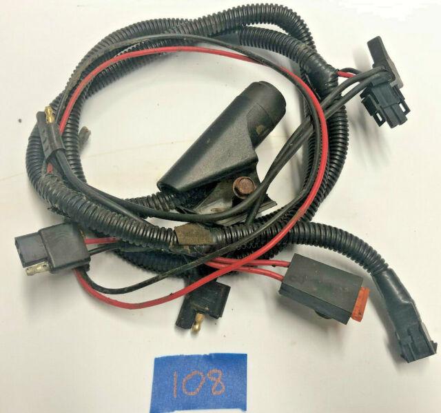 Craftsman Husqvarna Key Start And Battery Wire Harness 423800 422114 422115